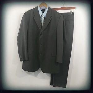 Daniel Hechter Men's Dark Brown Suit EUC